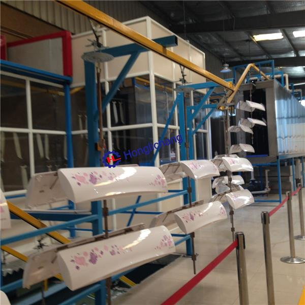 Aircon PU Paint Line